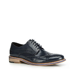 Men's shoes, navy blue, 90-M-512-7-39, Photo 1