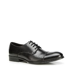 Men's shoes, black, 90-M-513-1-44, Photo 1