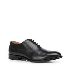 Men's shoes, black, 90-M-515-1-44, Photo 1