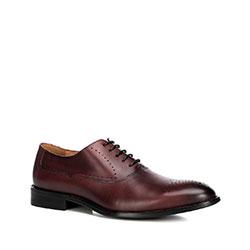 Men's shoes, burgundy, 90-M-515-2-44, Photo 1