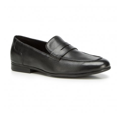 Men's shoes, black, 90-M-518-1-39, Photo 1