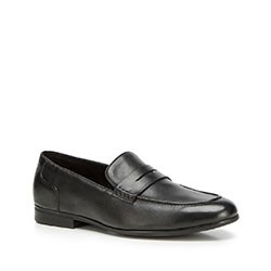 Men's shoes, black, 90-M-518-1-42, Photo 1