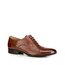 Men's shoes, brown, 90-M-600-4-45, Photo 1
