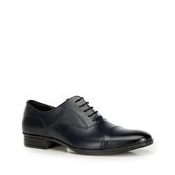 Men's shoes, navy blue, 90-M-600-7-41, Photo 1