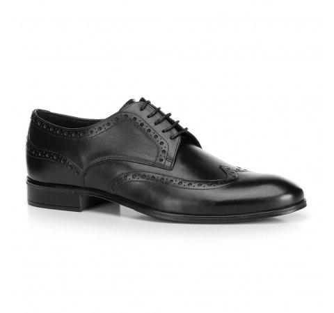 Buty męskie, czarny, 90-M-601-4-42, Zdjęcie 1