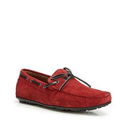 Men's shoes, red, 90-M-902-3-44, Photo 1