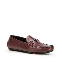 Buty męskie, bordowy, 90-M-904-2-45, Zdjęcie 1