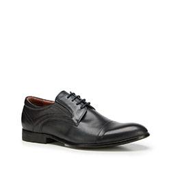 Men's shoes, navy blue, 90-M-908-7-42, Photo 1
