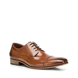 Buty męskie, Brązowy, 90-M-910-5-42, Zdjęcie 1