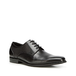 Men's shoes, black, 90-M-911-1-45, Photo 1