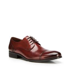 Men's shoes, burgundy, 90-M-912-2-43, Photo 1