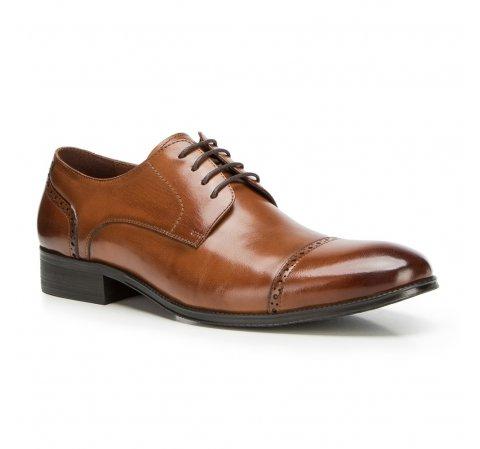 Buty męskie, Brązowy, 90-M-912-2-39, Zdjęcie 1