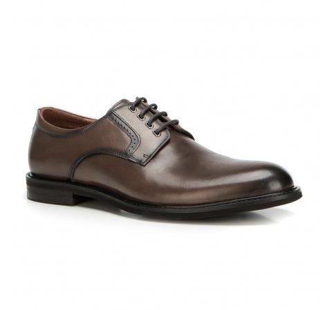 Buty męskie, szaro - brązowy, 90-M-915-7-39, Zdjęcie 1