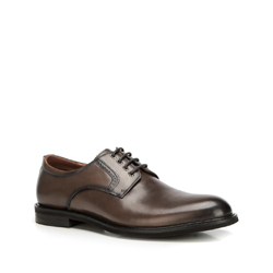 Buty męskie, szaro - brązowy, 90-M-915-8-44, Zdjęcie 1