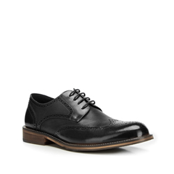 Men's shoes, black, 90-M-919-1-43, Photo 1