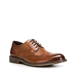 Men's shoes, light brown, 90-M-919-5-41, Photo 1