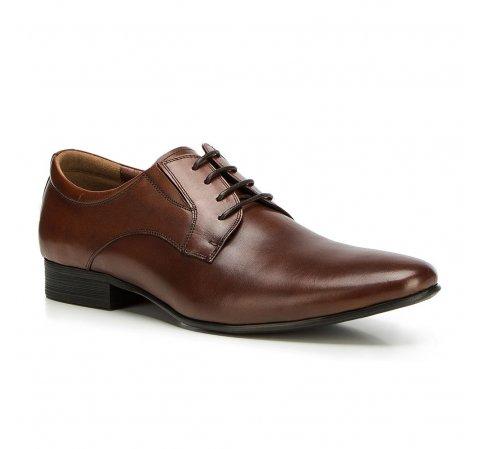 Buty męskie, Brązowy, 90-M-920-4-39, Zdjęcie 1