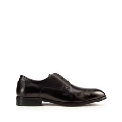 Men's lace up shoes, black, 93-M-525-1-39, Photo 1