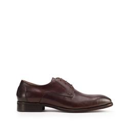 Men's lace up shoes, brown, 93-M-525-4-42, Photo 1