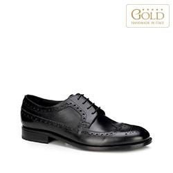 Buty męskie, czarny, BM-B-585-1-45, Zdjęcie 1