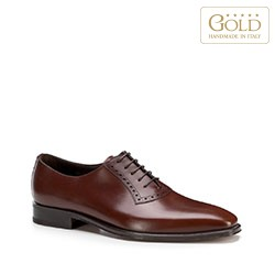 Buty męskie, brązowy, BM-B-587-5-43_5, Zdjęcie 1