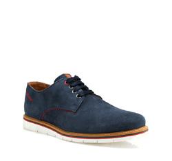 Men's shoes, navy blue, 84-M-203-7-45, Photo 1