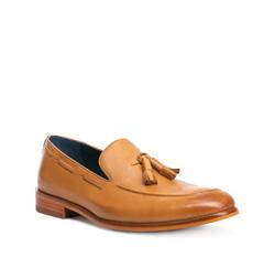 Men's shoes, light brown, 84-M-917-5-45, Photo 1