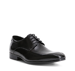Buty męskie, czarny, 84-M-809-1-43, Zdjęcie 1
