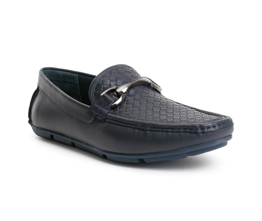 Обувь мужскаяТуфли мужские типа  Мокасины  выполнены по технологии Hand Made из натуральной итальянской кожи наивысшего качества.  Подошва сделана из качественного синтетического материала. Благодаря изысканной  пряжке , модель идеально сочетается с различными стилями. натуральная кожа  натуральная кожа синтетический материал<br><br>секс: мужчина<br>Цвет: синий<br>Размер EU: 42<br>материал:: Натуральная кожа