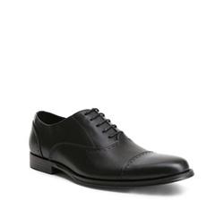 Men's shoes, black, 84-M-900-1-43, Photo 1