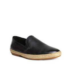 Men's shoes, black, 84-M-925-1-43, Photo 1