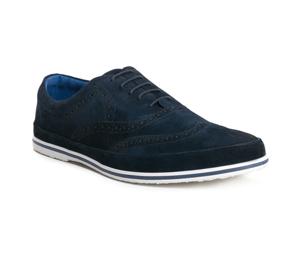 Обувь мужская Wittchen 84-M-926-7, синийТуфли мужские выполнены по технологии \\Hand Made\\ из натуральной итальянской кожи наивысшего качества.  Подошва сделана из качественного синтетического материала. Модель в стиле Casual с легкостью дополнит городской стиль. натуральная кожа  натуральная кожа синтетический материал<br><br>секс: мужчина<br>Цвет: синий<br>Размер EU: 45<br>материал:: Натуральная кожа