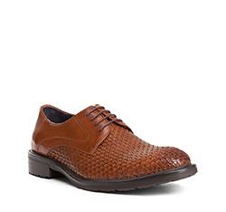 Men's shoes, light brown, 84-M-814-5-44, Photo 1