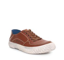 Men's shoes, light brown, 84-M-927-5-44, Photo 1