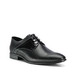 Buty męskie, czarny, 84-M-405-1-45, Zdjęcie 1
