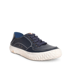 Men's shoes, navy blue, 84-M-927-7-40, Photo 1