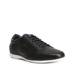 Men's shoes, black, 84-M-928-1-41, Photo 1