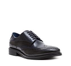 Buty męskie, czarny, 84-M-803-1-45, Zdjęcie 1