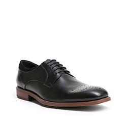 Buty męskie, czarny, 84-M-804-1-45, Zdjęcie 1