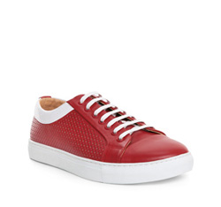 Men's shoes, red, 84-M-929-3-42, Photo 1