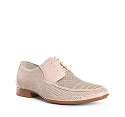 Men's shoes, light beige, 84-M-815-9-45, Photo 1