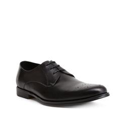 Buty męskie, czarny, 84-M-908-1-44, Zdjęcie 1