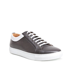 Men's shoes, grey, 84-M-929-8-44, Photo 1