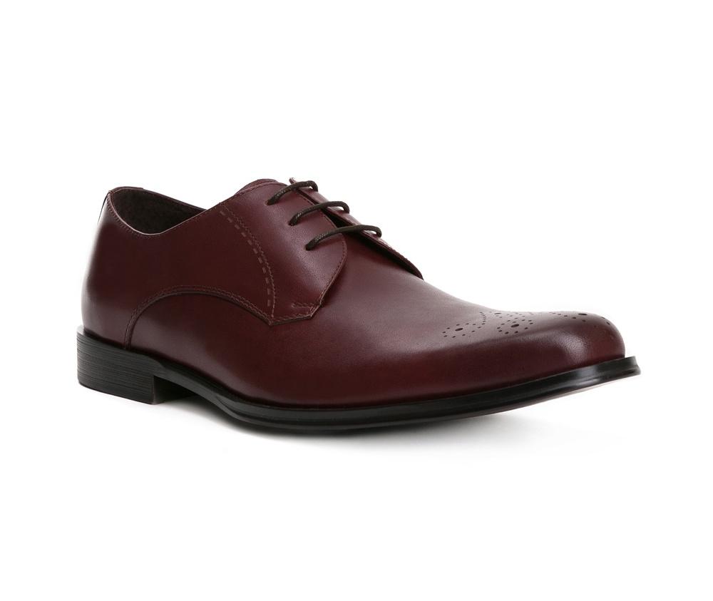 Обувь мужскаяТуфли мужские, выполнены по технологии Hand Made из натуральной итальянской кожи наивысшего качества.  Подошва сделана из качественного синтетического материала. Модель с роскошной отделкой с легкостью впишется в официальный образ каждого мужчины. натуральная кожа  натуральная кожа синтетический материал<br><br>секс: мужчина<br>Цвет: коричневый<br>Размер EU: 45<br>материал:: Натуральная кожа<br>примерная высота каблука (см):: 2,5