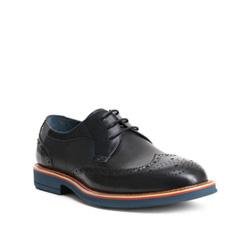 Men's shoes, navy blue, 84-M-909-7-39, Photo 1