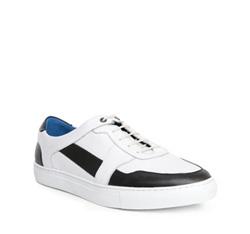 Buty męskie, biały, 84-M-932-0-44, Zdjęcie 1