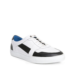 Men's shoes, white, 84-M-932-0-41, Photo 1
