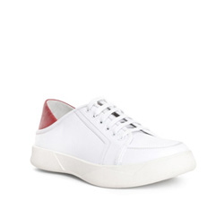 Men's shoes, white, 84-M-933-0-42, Photo 1