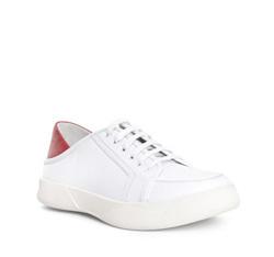 Buty męskie, biały, 84-M-933-0-40, Zdjęcie 1