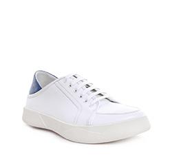 Buty męskie, biało - niebieski, 84-M-933-7-45, Zdjęcie 1